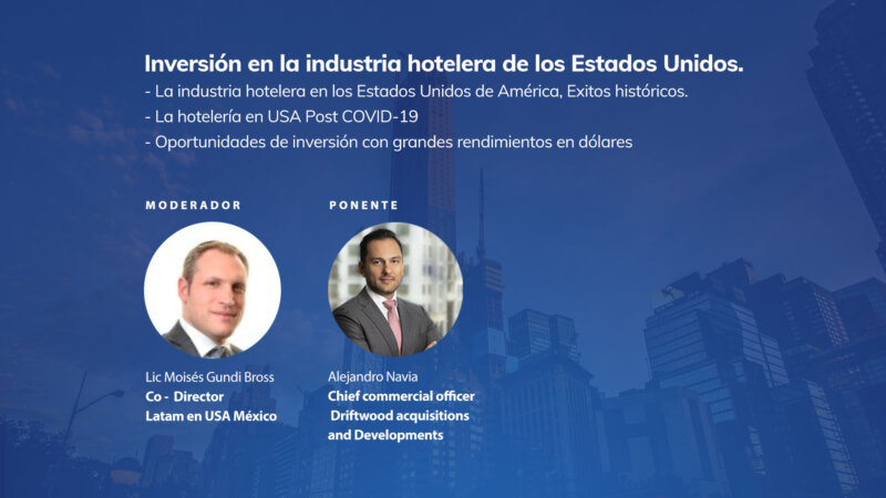 Inversión en la industria hotelera de los Estados Unidos