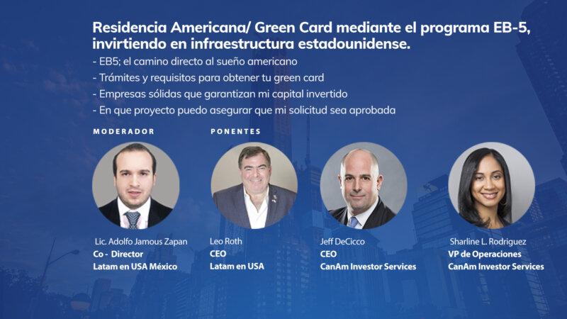 Residencia Americana/ Green Card mediante el programa EB-5, invirtiendo en infraestructura estadounidense